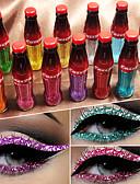 halpa Miesten eksoottiset alusvaatteet-merkki cmaadu värikäs flash kiiltävä glitter jauhe eyeliner vedenpitävä paljetteja luomiväri nestemäinen silmä kosmetiikka