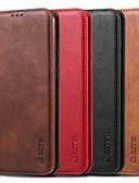 זול מגנים לטלפון-מארז לגוף huawei 8a / p30 lite מגנטי / להעיף / עם עמידות גוף מלא מוצק בצבע קשה pu עור עבור huawei y6 (2019) / y7 2019 / כבוד 8a / y6 2018 / p חכם 2019 / p30 / p30 Pro / כבוד 10i