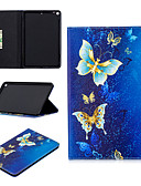 זול במקרה iPad-מארז iPad mini 5 עם מעמד / מחזיק כרטיס מלא גוף המקרים בעלי חיים / קריקטורה / פנדה קשה pu עור עבור ipad מיני 5