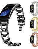 זול להקות Smartwatch-הלהקה לצפות עבור הילוך fit2 פרו סמסונג גלקסיה פרפר אבזם נירוסטה רצועת היד