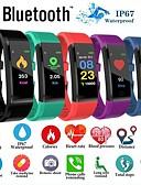 זול חליפות לנושאי הטבעת-id115 פלוס גשש כושר צמיד חכם bluetooth תמיכה להודיע / צג קצב לב עמיד למים ספורט smartwatch smartwatch samsung / iphone / אנדרואיד טלפונים