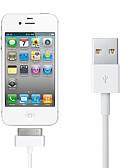 זול כבל & מטענים iPhone-תאורה כבל נורמלי מתכת אל חלד מתאם כבל USB עבור iPhone