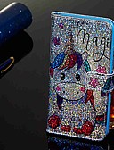 זול מגנים לטלפון-מגן עבור Samsung Galaxy Galaxy A7(2018) / Galaxy A9 (2018) / Galaxy A10 (2019) ארנק / מחזיק כרטיסים / עם מעמד כיסוי מלא חיה קשיח עור PU