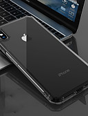 זול מגנים לאייפון-מגן עבור Apple iPhone XS / iPhone XR / iPhone XS Max שקוף כיסוי אחורי אחיד רך TPU