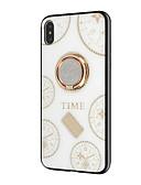 זול במקרה iPad-מארז עבור iPhone 6 / iPhone xs מחזיק טבעת מקסימלי / ריינסטון חזרה כיסוי גיאומטרי דפוס רך tpu עבור iPhone 6 / iPhone 6 פלוס / iPhone 7
