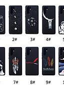 זול מגנים לטלפון-מגן עבור Huawei Huawei P20 / Huawei P20 Pro / Huawei P20 lite מזוגג / תבנית כיסוי אחורי מילה / ביטוי / חיה / אנימציה רך TPU