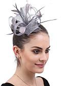 povoljno Ukrasi za kosu-dame Vintage pomodan Elegantno Perje Vjenčanje Party / večernja odjeća - Jednobojni