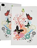 Недорогие Чехлы для телефонов-Кейс для Назначение Huawei Huawei Mediapad T5 10 / Huawei Mediapad M5 Lite 10 / MediaPad M5 10 (Pro) Защита от удара / Флип / Ультратонкий Чехол Бабочка Твердый Кожа PU