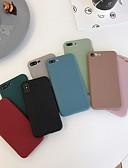 זול מגנים לאייפון-מארז עבור iPhone xr / iPhone xs מקס כריכה אחורית פרוסטד מוצק צבע רך tpu עבור iPhone 6 / 6plus / 6s / 6splus / 7/8 / 7plus / 8plus / x / xs / xsmax / xr