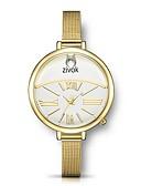 זול שעונים קוורץ-בגדי ריקוד נשים פלדת אל חלד קווארץ מתכת אל חלד עמיד במים אנלוגי מינימליסטי - זהב כסף זהב ורד