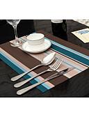 זול מגנים לאייפון-קלסי Acetate ריבוע משטחי שולחן פסים לוח קישוטים 2 pcs