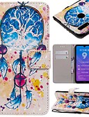 זול מגנים לטלפון-מגן עבור Huawei Huawei Nova 3i / Mate 10 / Mate 10 pro ארנק / מחזיק כרטיסים / עמיד בזעזועים כיסוי מלא אנימציה קשיח עור PU