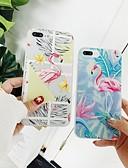 זול מגנים לאייפון-מגן עבור Apple iPhone XS / iPhone XR / iPhone XS Max עמיד בזעזועים / עמיד לאבק / עמיד במים כיסוי אחורי / כיסוי מלא פרח קשיח TPU / ג'ל סיליקה