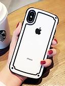זול מגנים לאייפון-מארז iPhone 6 / iPhone xs מקסימום שקוף / shockproof כיסוי גב שקוף פלסטיק קשיח עבור iPhone 6 / iPhone 6 פלוס / iPhone 6s