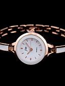 hesapli Saatler-Kadın's Elbise Saat Quartz Gündelik Saatler Analog Klasik - Gümüş Gül
