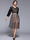 povoljno Ženske haljine-Žene Korice Haljina Cvjetni print Do koljena