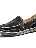 povoljno Jakne i kaputi za djevojčice-Muškarci Udobne cipele Traper Proljeće ljeto Natikače i mokasinke Crn / Dark Blue / Sive boje