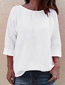 povoljno Ženske majice s kapuljačama i trenirke-Majica s rukavima Žene Dnevno Jednobojni Obala