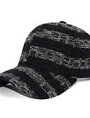 זול מכנסיים ושורטים לגברים-שחור יין לבן כובע בייסבול קולור בלוק פוליאסטר בסיסי בגדי ריקוד גברים