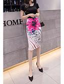 povoljno Bluza-Žene Bodycon Suknje - Cvjetni print Red S M L