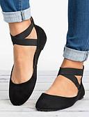 povoljno Maturalne haljine-Žene Ravne cipele Ravna potpetica Okrugli Toe Mikrovlakana Ljeto Crn / Leopard / Zlato