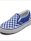 hesapli Tişört-Genç Erkek Kanvas Mokasen & Bağcıksız Ayakkabılar Küçük Çocuklar (4-7ys) Rahat Siyah / Kırmzı / Mavi Yaz