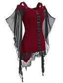 povoljno Bluza-Bluza Žene Halloween Color block Crn