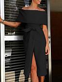 povoljno Maturalne haljine-Žene Osnovni A kroj Haljina Jednobojni Asimetričan
