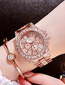 povoljno Kvarcni satovi-Žene Luxury Watches Diamond Watch Zlatni sat Japanski Kvarc Nehrđajući čelik Srebro / Zlatna / Rose Gold Analog dame Šarm Moda Bling Bling - Rose Gold Zlato Srebro