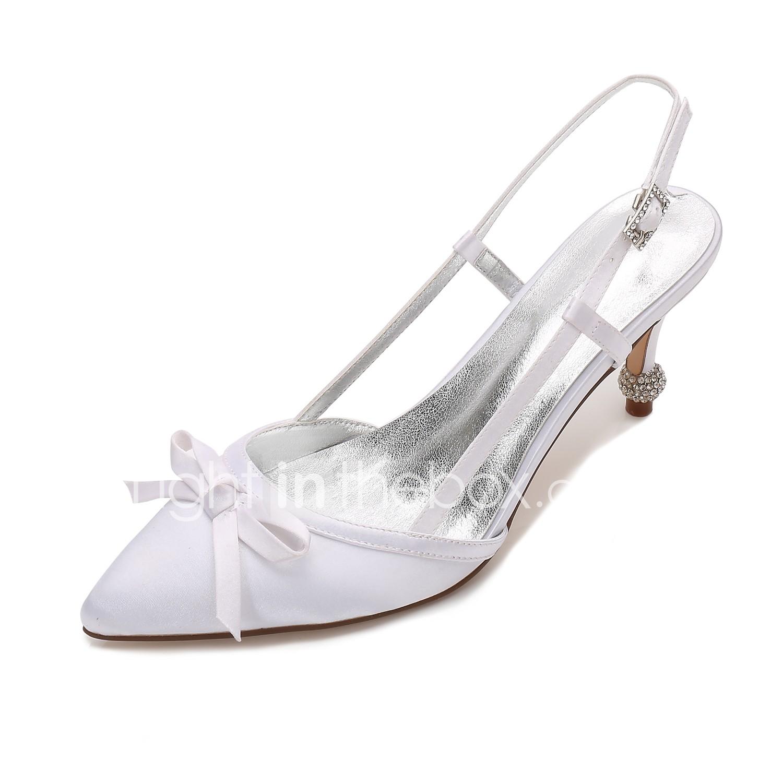 8899f8699127a Women's Wedding Shoes Cone Heel / Low Heel / Stiletto Heel Pointed ...