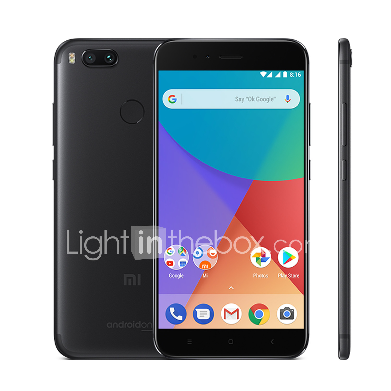 Xiaomi Mi A1 55 Inch 4g Smartphone 4gb 64gb 12 Mp Qualcomm Hp Redmi 2 Ram 1gb Rom 8gb Lte Photo By Supplier