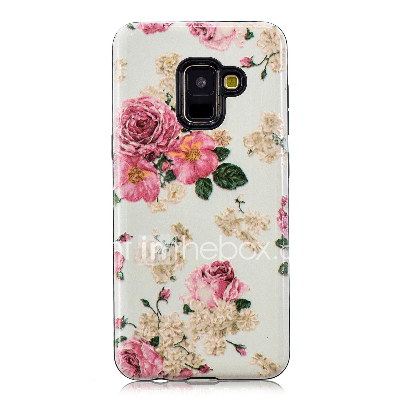 coque samsung a5 2017 rose fleur