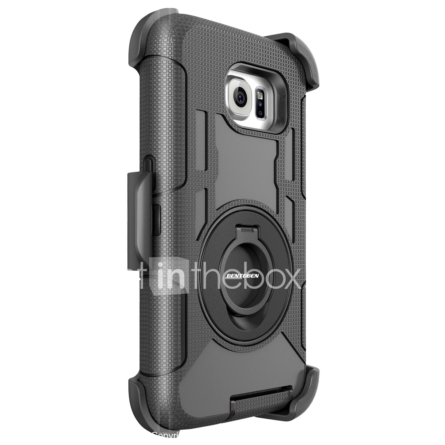 new product 066a1 7241f BENTOBEN Case For Samsung Galaxy S8 Shockproof / Ring Holder ...