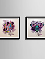 wall arts for living room. Animal Abstract Fantasy Framed Canvas Set Wall Art PVC Material With  Frame For Home Cheap Online for 2017