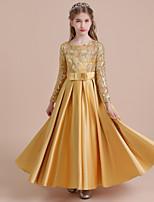 abordables Robes à Fleurs pour Filles-Trapèze Long Robe de Demoiselle  d  039  827506f03612