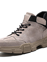 halpa Miesten lenkkarit-Miesten Comfort-kengät Tekonahka Talvi  Urheilullinen   Preppy-tyyli Lenkkitossut ff4623bcf6