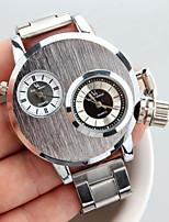 b508e6e17904d رخيصةأون ساعات رجالية-V6 رجالي ساعة المعصم كوارتز فضة ساعة كاجوال مماثل  كاجوال موضة -