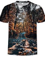 1dd130a9a186b0 preiswerte Herren T-Shirts  amp  Tank Tops-Herrn Einfarbig   3D T-