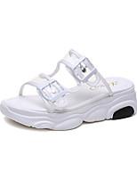 519c750951 olcso Női cipők-Női PU Nyár Alkalmi Szandálok Tipegők Fehér / Fekete