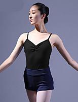 economico -Danza classica Body Per donna Addestramento Cotone Di pizzo / A incrocio Calzamaglia / Pigiama intero