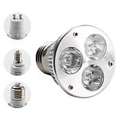 e14 gu10 e26 / e27 led proyector mr16 par38 3 de alta potencia led 270lm blanco cálido 3000k ac 85-265v