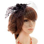 チュール魅惑の鳥ケージのベールヘッドピース古典的な女性的なスタイル