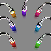 Moderne Regnbruser Krom Funktion for  LED Regnfald , Brusehoved
