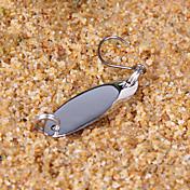 Señuelos duros Cebo metálico Cucharas Cebos Pesca - 5 pcs - Fácil de Usar Material Mixto - Pesca en General