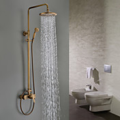 Traditional with Antique Brass Single H...