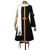 Inspirado por Fairy Tail Natsu Dragneel Animé Disfraces de cosplay Trajes Cosplay Retazos Chaqueta Pantalones Cinturón Bufanda Para