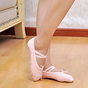 Mujer Hombre Ballet Tela Plano Rojo Rosa Negro Blanco Rosa No Personalizables