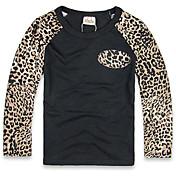 ボーイの コットン Tシャツ,つや消しブラック 冬