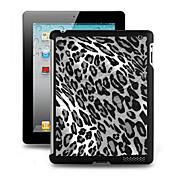iPadの2/3/4のための3Dエフェクトケースプラスチックバックカバー