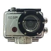 Action Camera / Sports Camera 5MP 3264 x 2448 WIFI 防水 USB CMOS 32 GB H.264 50 M ユニバーサル